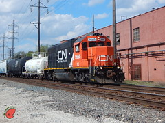 IC a CN (Twigy BNSF) Tags: cn illinois central canadian national waukesha