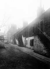 Rear of Hawkhill/Wallaces Pend (Dundee City Archives) Tags: old woman building stone living photos dundee poor steps victorian housing slums 1918 conditions hawkhill victorianhousing victoriantenements