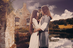 Couple (iblushay : Thank you for visiting and the faves) Tags: photomanipulation photoshop couple photographs