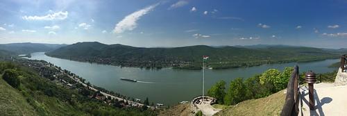 Boucle du Danube depuis le Château Fort de Visegràd