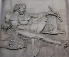 The Gods... (jmaxtours) Tags: toronto ontario bank zeus gods basrelief greekgods torontoontario thegods bankofnovascotia romangods thebankofnovascotia