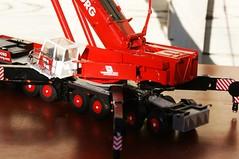 DSC03714 (Wilfred de Groot) Tags: big hobby cranes homemade precious rig heavy beautifull scalemodel heavyduty terex heavylifting wagenborg demag ac700