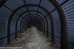 a long tunnel (The Urban Adventure) Tags: dark underground kent nikon war buried military wwii tunnel ww2 dover lowepro torgoen hougham deepshelter d7200