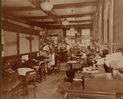 First National Bank Office Workers