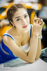 DSC05120 (inkid) Tags: portrait people girl lady female thailand prime lights model women pretty dof bokeh f14 85mm sigma indoor thai ambient hsm motorexpo2015