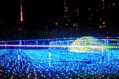 Happy New Year!!! (Mototaka Tsujima) Tags: christmas street winter japan tokyo nikon f14 日本 roppongi 東京 58mm 冬 クリスマス nokton 六本木 d610 ストリート ニコン ミッドタウン ノクトン