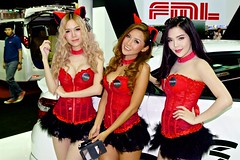 Beautiful, sexy presenters at the 32nd Thailand International Motor Expo at IMPACT Challenger in Muang Thong Thani, Nonthaburi (UweBKK ( 77 on )) Tags: auto show red sexy beautiful beauty car fashion thailand hall model asia dress expo sale bangkok sony style automotive exhibition international thong impact motor southeast alpha dslr thani 77 32 challenger slt 32nd presenter muang nonthaburi