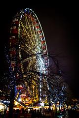 Ferris Wheel 4 (HarveyNewman) Tags: night canon scotland colorful edinburgh time fireworks mark iii scottish newyear celebration hogmanay scotish 2015