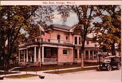 Elks Club Color Postcard