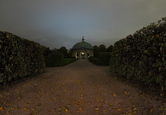 Hofgarten Herbstnacht / Autumn Night in the Hofgarten (whitesepulchre) Tags: nightphotography autumn fall leaves clouds canon germany munich mnchen bayern bavaria herbst hofgarten longexposuretime sx50 canonpowershotsx50