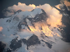 Mount Bute at Sunset (Dru!) Tags: canada bc britishcolumbia northface alpenglow coastmountains butemountain mountbute seabridgejuly