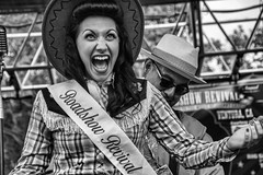 The Thrill of Victory (Culture Shlock) Tags: street girls people beauty vintage women victory win pageant pinup winners contestant popularity beautypageant contestants