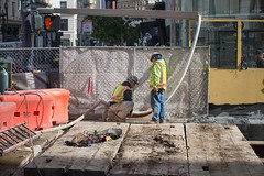 160126_1083_UMS (Central Subway) Tags: sf sanfrancisco bridge project construction muni extension lightrail temporary unionsquare phase2 stocktonstreet gearystreet centralsubway niemanmarcus cribbing sanfranciscomunicipalrailway sfmta tthirdline sanfranciscomunicipaltransportationagency unionsquaremarketstreetstation