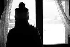 S N O W (Martina Nittardi) Tags: finestra neve cappello fuori fiocchi guardando scendere