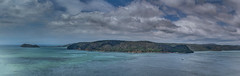 Barrenjoey Headland at the mouth of the Hawkesbury River (Arcus Cloud) Tags: sky panorama cloud lighthouse water clouds river landscape landscapes nationalpark nikon lighthouses outdoor pano hill australia panoramic lookout hills rivers nsw vegetation skyandclouds centralcoast australianlandscape stitched hdr hawkesburyriver ptgui riverscape photomatix patonga photomatixpro hdrphotography skyandcloud hdrpanorama australiannationalpark hdrlandscapes warrahlookout hdrlandscape brisbanewatersnationalpark warrahtrig ptguipro cloudandsky d5300 barranjoeylighthouse australianriver australianpanorama nikond5300 barranjoeyheadland
