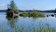 Lake Sompanen (Kouvola, 20150827) (RainoL) Tags: summer lake finland landscape geotagged august fin kouvola 2015 kymenlaakso kuusankoski sompanen 201508 20150827 geo:lat=6095741282 geo:lon=2661972283