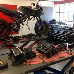 Performance #Motor # Build #Triumph #SpeedTriple... (ttrno) Tags: performance triumph motor speedtriple uploaded:by=flickstagram instagram:venuename=thetransportationrevolutioneuropeanmotorbikesneworleans instagram:venue=261995117 instagram:photo=803712401713558111231358483