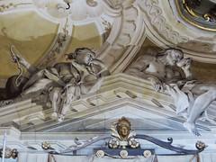 Dcors de la salle de bal, villa Pisani, 1720-1735, Stra, Ville mtropolitaine de Venise, Vntie, Italie. (byb64) Tags: italien italy architecture europa europe italia eu 18th villa venise venezia affreschi fresco italie brenta pisani pavillon trompeloeil ue fresko 1700 dcors fresque dcor tiepolo 1762 frescos veneto frescoes atlante trampantojo preti fresques settecento stra venetien villapisani xviiie vntie giambattistatiepolo salledebal villgiature provinciadivenezia lanazionale frigimelica provincedevenise cittmetropolitanadivenezia