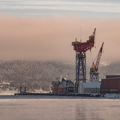 From Drammen harbour (A.Husvaer) Tags: norway harbour maritime f2 135mm drammen samyang