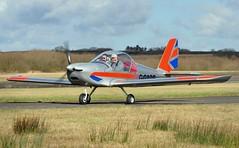 G-GARB (goweravig) Tags: uk swansea wales aircraft visiting cosmic ev97 swanseaairport teameurostar