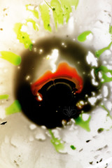 with that eye look at art? / con che occhio guardi l'arte? (( vIOLENT_Lady Photographer )) Tags: original light people orange black color detail eye water colors look ink work canon dark photography photo artwork eyes focus artist colore foto photographer shadows arte darkness shot artistic tag details picture tags tagged sguardo photograph fotografia capture acqua colori nero libert fotografi artistico gruppi inchiostro fluidity