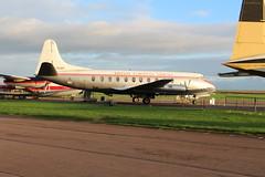 IMG_2169 (routemaster2217) Tags: bea aircraft duxford airliner turboprop imperialwarmuseum iwm propellerplane britisheuropeanairways rollsroycedart