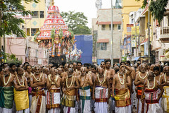 Place - Triplicane Temple Car Festival. (Ramkumar Radhakrishnan) Tags: street morning people streets temple photography nikkor chennai roi cwc iyers landscapephotography sadhus streetsofchennai ramphotography carfestival chennaistreets triplicane parthasarathytemple happychennai facebookpage d5300 rootsofindia chennaiweekendclickers templesofchennai chennaistreetphotography triplicanefestival mychennai nikond5300 cwc508 trplicanestreets