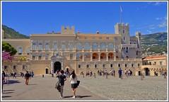 Palais de Monaco (Cervusvir) Tags: france beach strand frankreich montecarlo monaco fontvieille francia plage alpesmaritimes mediterranee mittelmeer sea french mediterranean cte meeralpen dazur riviera