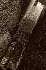 Nel_labirinto_della_complessita (Danilo Mazzanti) Tags: photography foto photos fotografia inverno grandangolo fotografo danilo diagonale seppia labirinto gallerie mazzanti muratura osiglia verticalit danilomazzanti wwwdanilomazzantiit