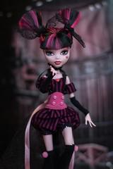 Freak du Chic (Jurty) Tags: dolls handmade custom mattel clawdeen monsterhigh draculaura