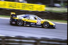 Ferrari F40  BRP Series 1996 Brands Hatchs/n : 90001drivers: Olofsson / Della Noce practice: 6race: 5GHGT DSC00082 (Gary Harman) Tags: gary harman garyharman gh gh4 gh5 gh6 bpr gt race cars 1996 ferrari f40 nikon 90 90s legends endurance pro photo pic car