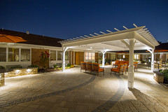 (CoastalSource) Tags: lighting summer dusk patio southern commercial northern livingspace pergola sittingarea downlighting bulletlight liplight