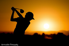 Sunset Drive (darrinwalden Photography) Tags: sunset shadow sport golf swing passion junior golfer