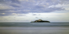 Shades Of Blue Nature (GCF Photography) Tags: ocean longexposure blue sea seascape beach water thailand coast seaside hills coastal prachuapkirikhan longexp prachuap georgiafowler