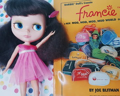 Anouk's soaking in vintage Francie goodness as inspiration for her pop-up shop