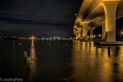 Roosevelt Bridge (petojustin) Tags: ocean longexposure bridge night landscape bay cityscape florida sigma19mm sonya6000