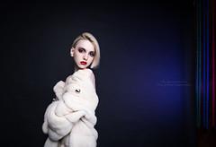4 (den_z1n) Tags: blackandwhite girl beauty studio photo model key low mua