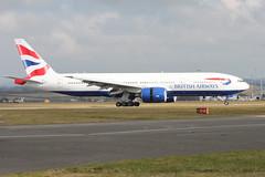 G-VIIO return (aitch tee) Tags: usa aircraft landing boeing britishairways airliner victorville walesuk cardiffairport reversethrust b777200 gviio maesawyrcaerdydd cwlegff speedbird9179 baw9179