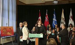 IMG_0848  Premier Kathleen Wynne made an announcement of funding on the Ending Violence Against Indigenous Women Strategy. (Ontario Liberal Caucus) Tags: zimmer aboriginal indigenous meilleur violenceagainstwomen indigenouswomen jaczek maccharles svhap