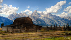 Historic Moulton Barn, Grand Teton National Park (xiaoping98) Tags: nature landscape historic grandtetonnp moultonbarn