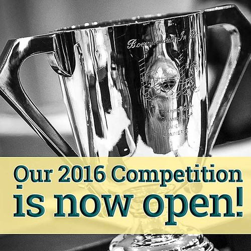 2016 Competition Now Open 6 March 2016