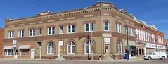 Old Bank Block (Shelton, Nebraska) (courthouselover) Tags: nebraska ne shelton lincolnhighway buffalocounty downtowns