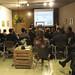 Xerrada-debat de la cooperativa d'arquitectes LaCol en el marc del Cicle de Jornades Formatives sobre les adoberies (1). Crèdit: ACVic.