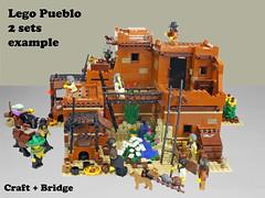 Lego Pueblo B1 (giorgio.chronas) Tags: arizona verde america mexico lego native pueblo western taos ideas acoma mesa zuni