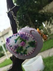 Lembrancinhas de passarinho (Pina & Ju) Tags: handmade artesanato passarinho feltro passaro chaveiro medalha lembrancinha merainha feitoamo