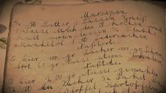 fast lbecker Marzipan ;-) (nirak68) Tags: deutschland alt marzipan oma lbeck rezepte inheritance backbuch 080366 erbstcke schleswigholsteinkreisfreiehansestadtlbeck c2016karinslinsede