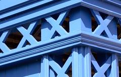 Lattice (midlandrambler) Tags: blue summer house hall national trust worcestershire lattice hanbury