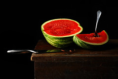 Melon (Studio d'Xavier) Tags: stilllife watermelon sliced melon strobist