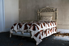Bed Time In An Abandoned TB Hospital (Robert Jack Images) Tags: abandoned bedroom urbanexploring urbex urbexing