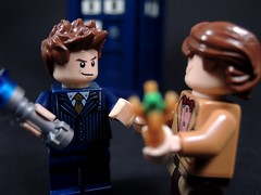 The Two Doctors (MrKjito) Tags: david matt day lego who 10 smith 11 sonic doctor minifig custom screwdriver tennanat